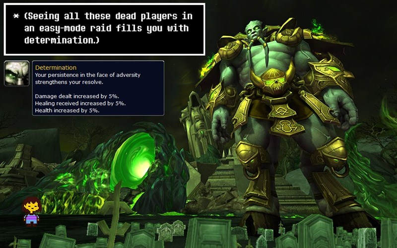 world of warcraft undertale - 8754323968
