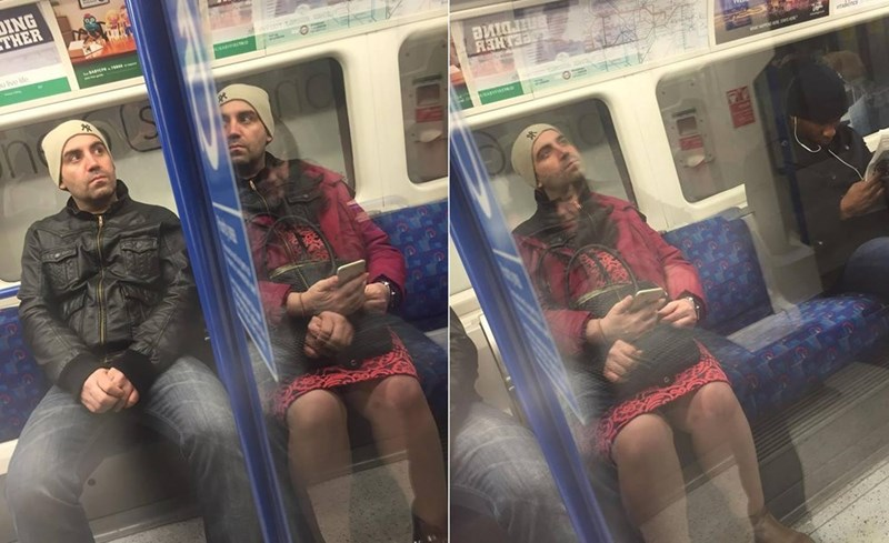 win image Optical Illusion on the Tube