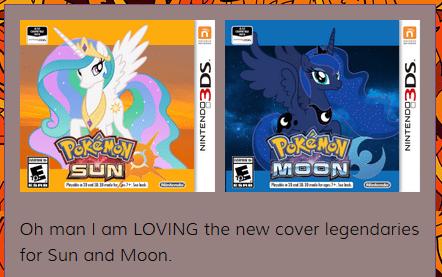 Pokémon princess luna princess celestia - 8754569216