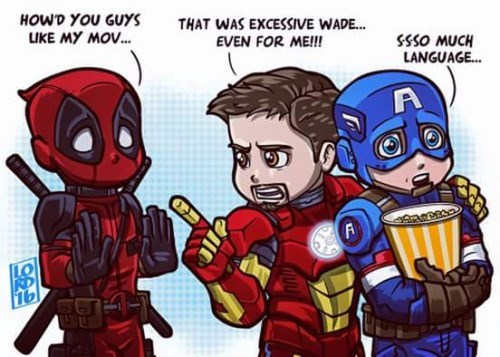 deadpool iron man captain america Sorry, Not Sorry?