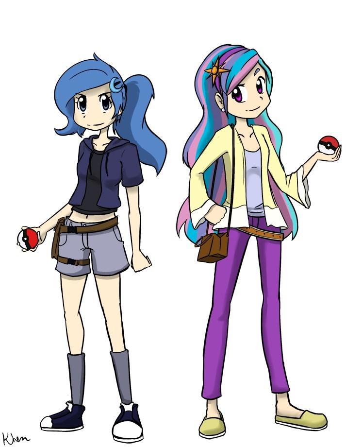 Pokémon princess luna princess celestia - 8754910208