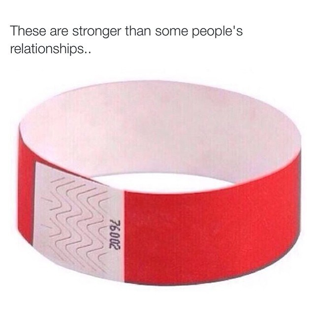 wristband,relationships