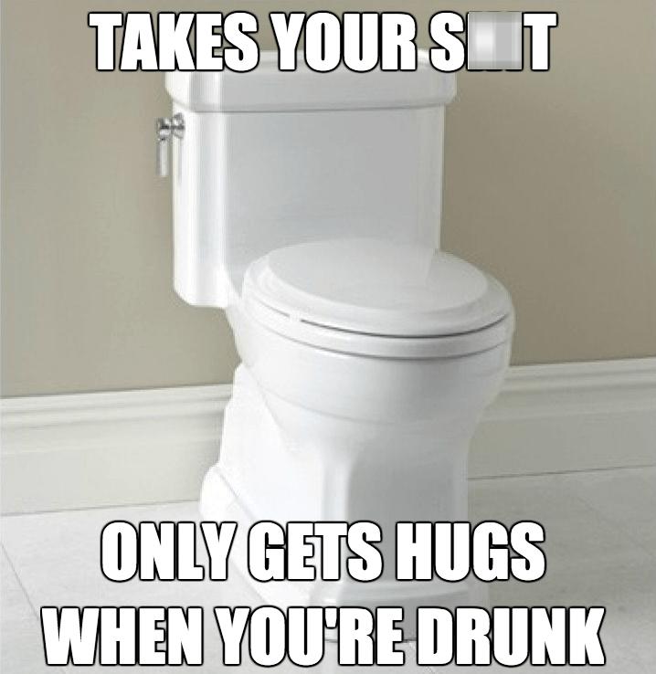 poop,hugs,toilets