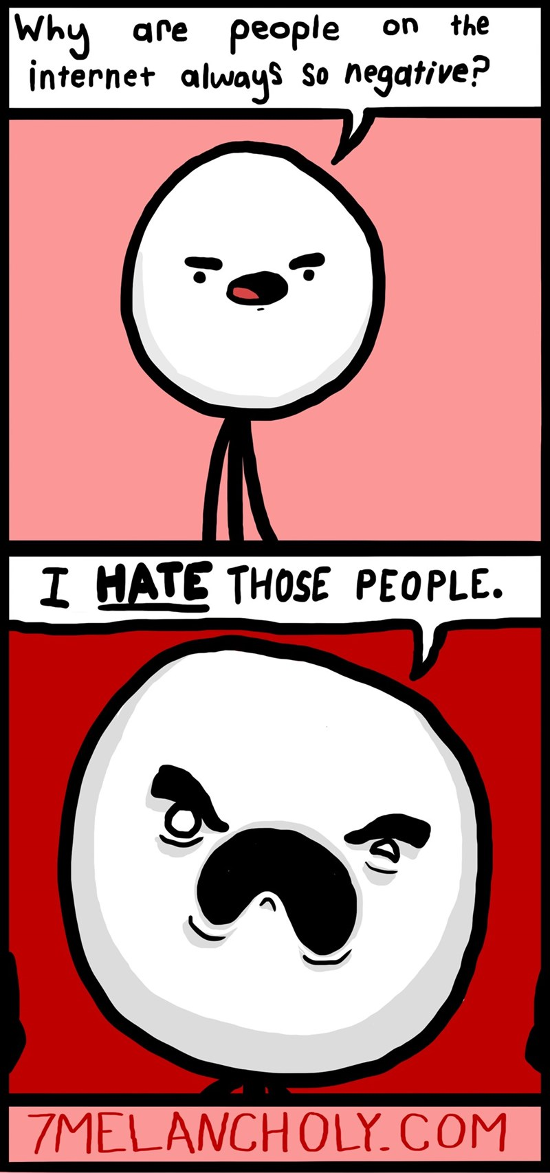 negativity web comics internet Hate's Such a Strong Word