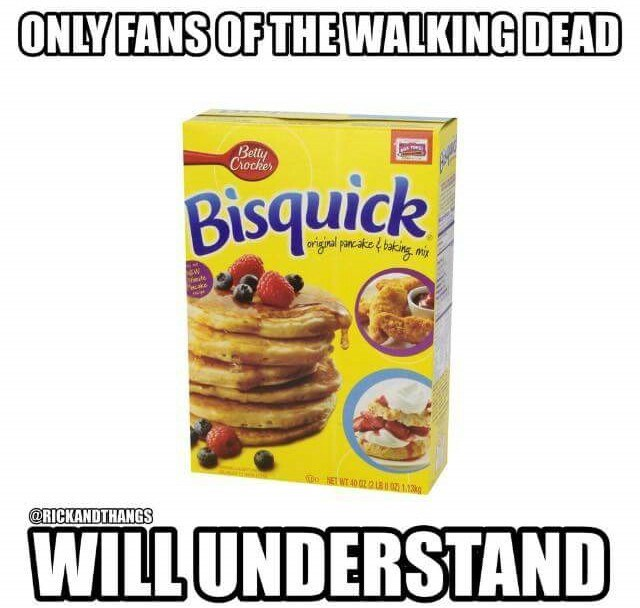 walking dead bisquick