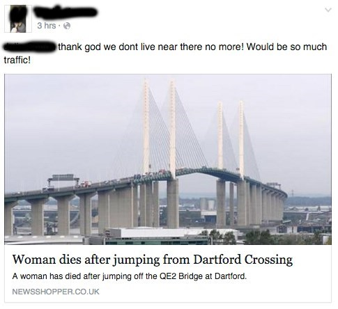 FAIL Death facebook