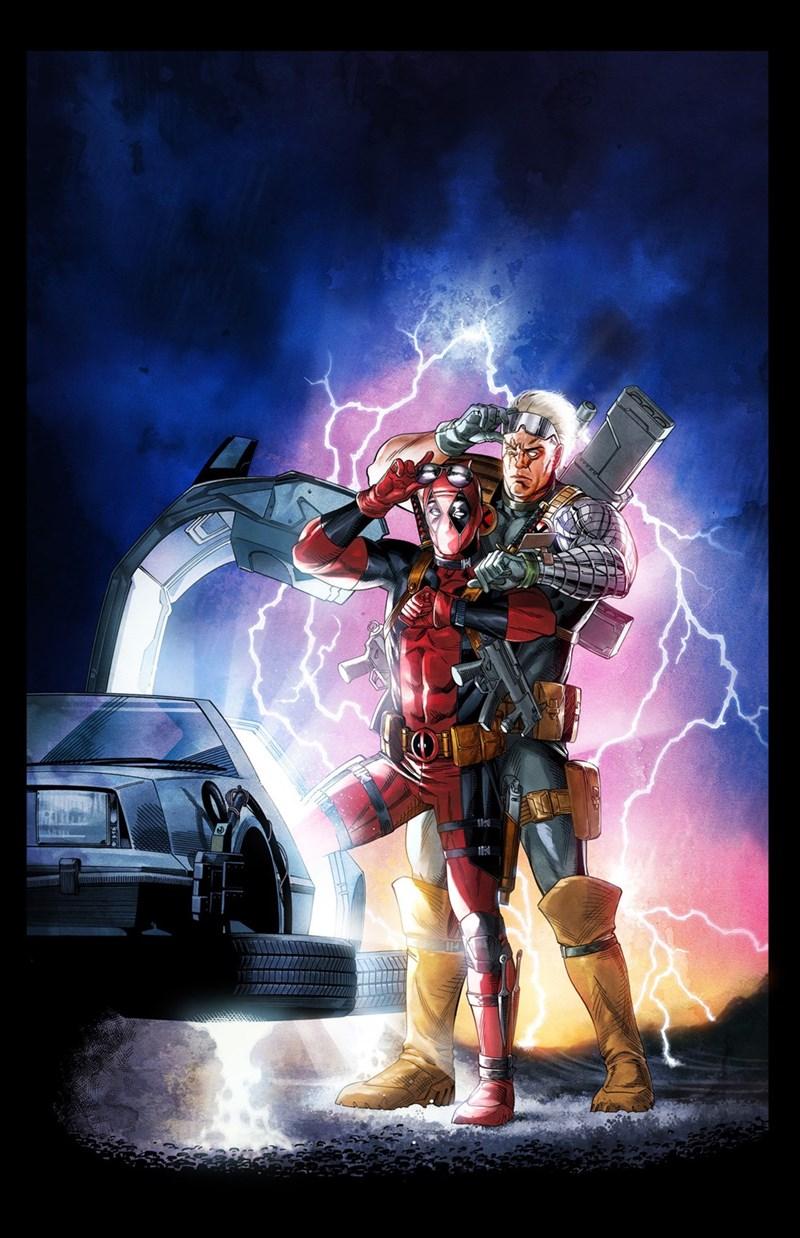 doc back to the future deadpool - 8755281920