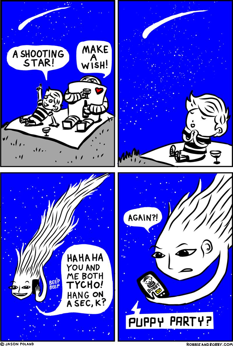 web comics wishes puppies It's a Good Wish
