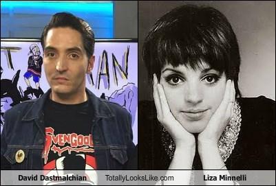 David Dastmalchian Totally Looks Like Liza Minnelli