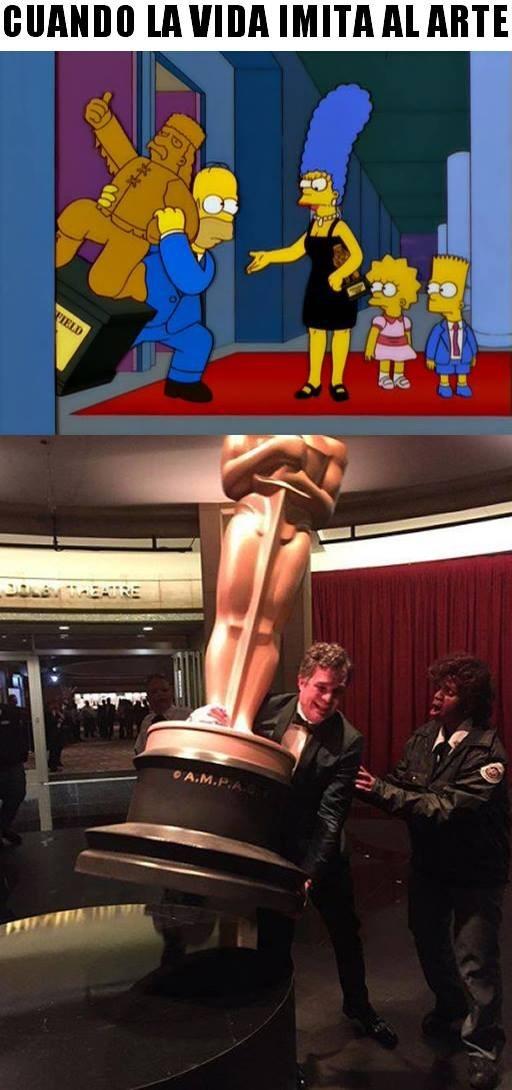 Los Simpsons lo hicieron