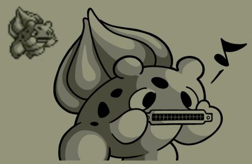 pokemon memes bulbasaur harmonica