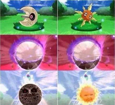 mega evolutions,pokémon sun and moon