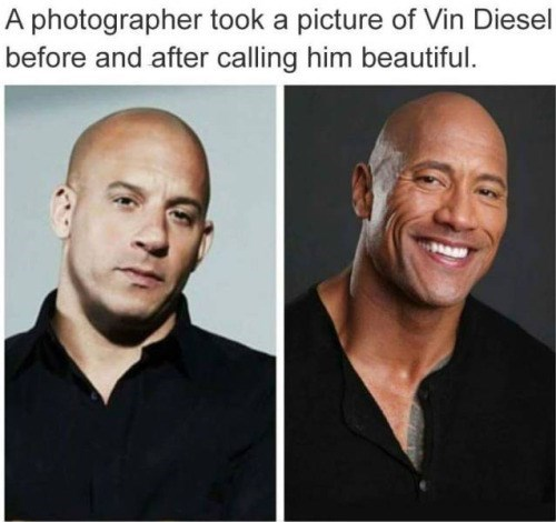 vin diesel,the rock