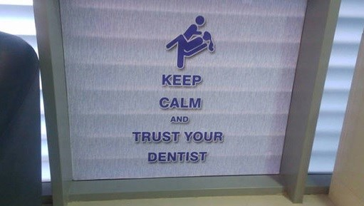 FAIL dentist creepy signs - 8755667200