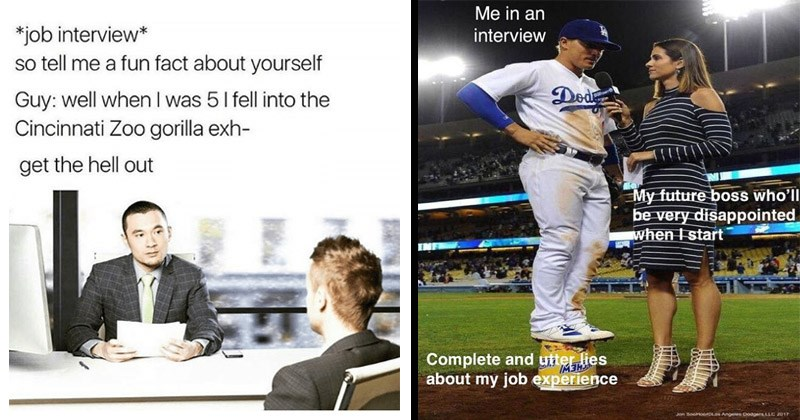 15 Job Interview Memes For When You Gotta Calm Those Nerves