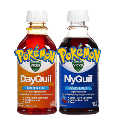 pokemon memes sun and moon dayquil nyquil