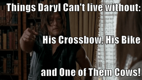 what daryl cant live without