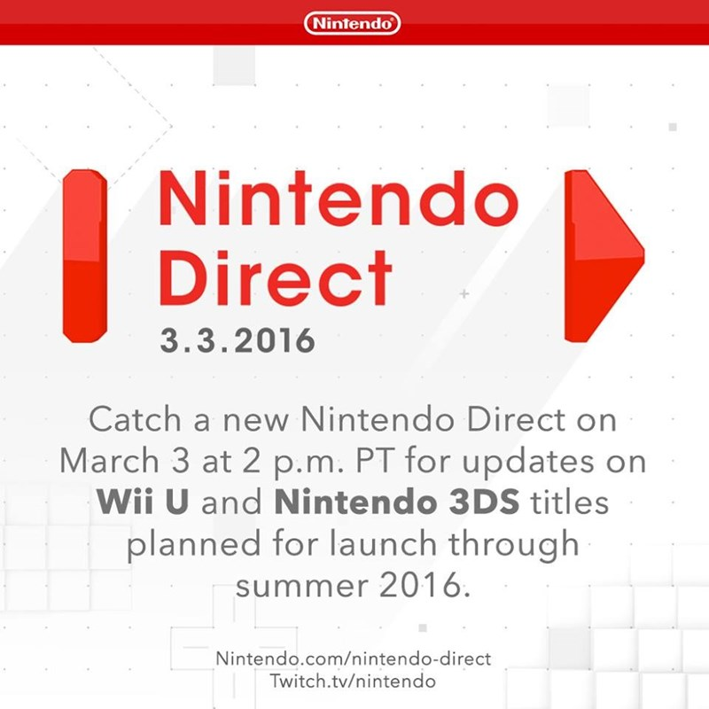 nintendo direct march 3