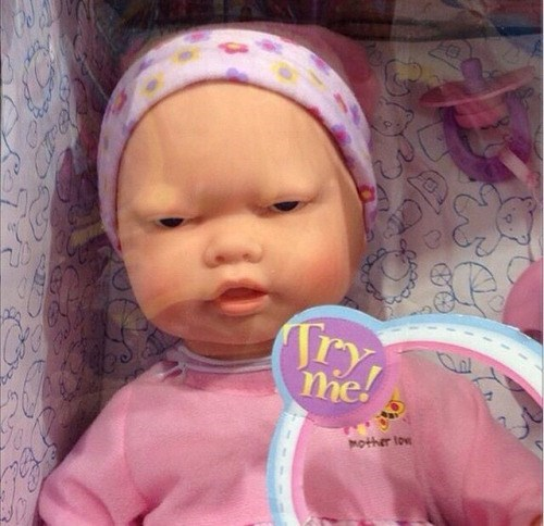 baby creepy doll - 8755874816