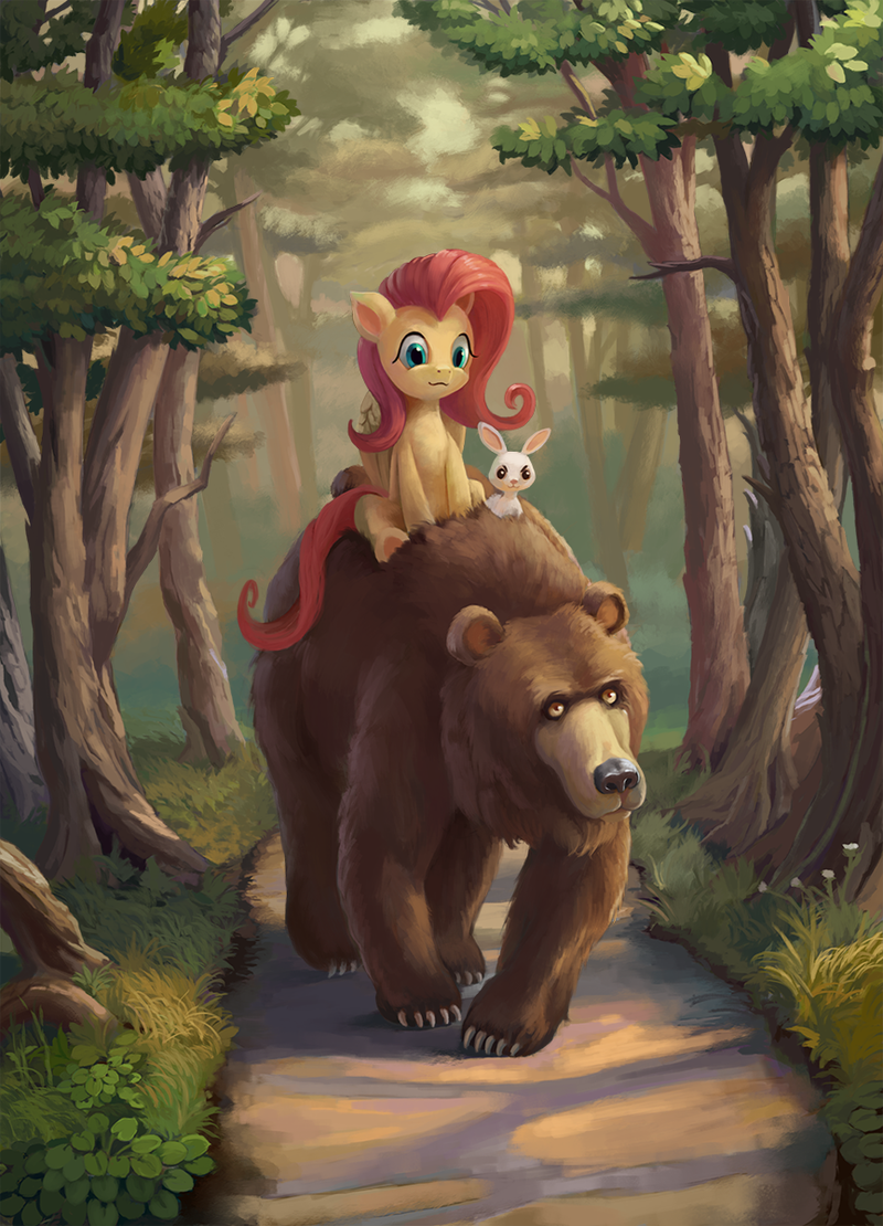 angel harry the bear fluttershy - 8756017408