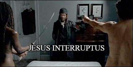 walking dead jesus interruptus