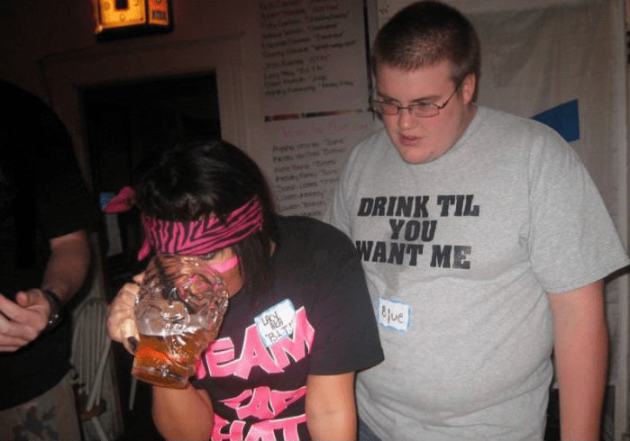 creepy drink til you want me shirt