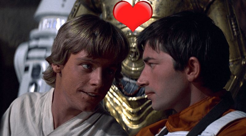 star wars mark hamill supports gay luke skywalker