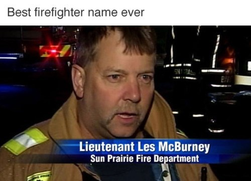 firefighter les mcburney