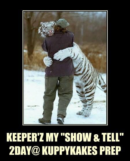"KEEPER'Z MY ""SHOW & TELL"" 2DAY@ KUPPYKAKES PREP"
