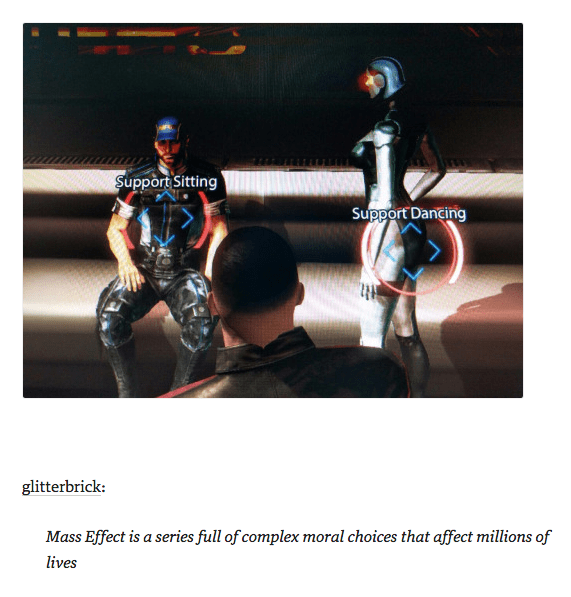 mass effect,moral choices