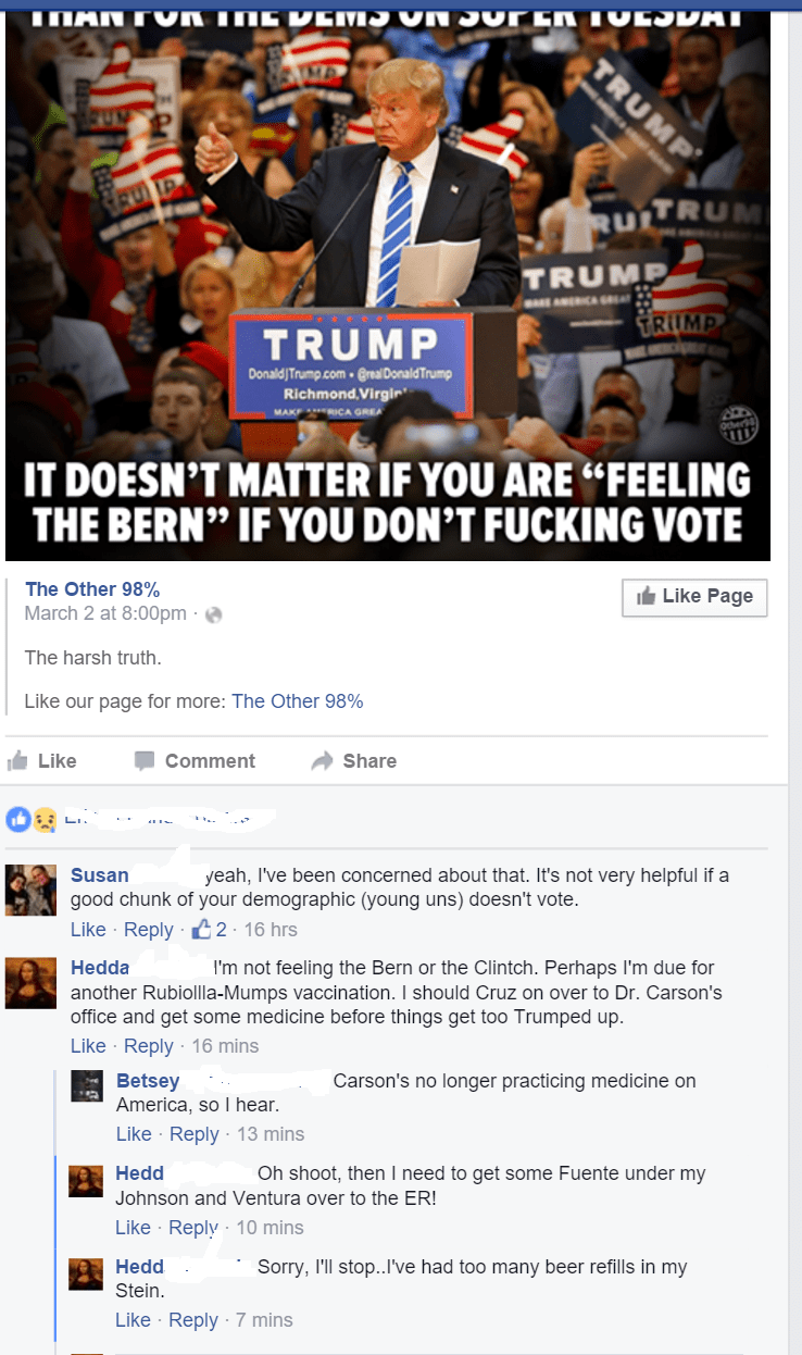 trump failbook puns politics - 8756485376