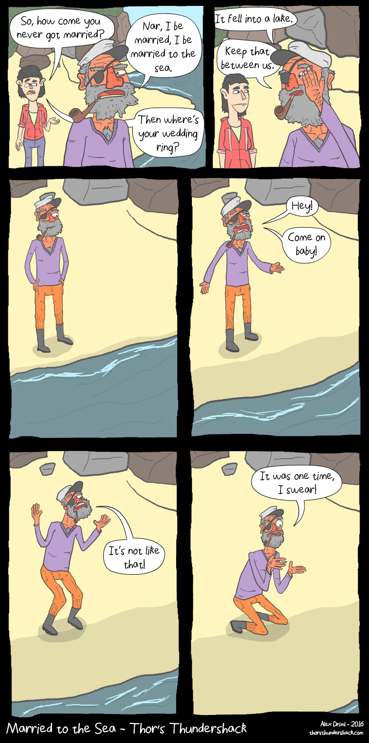 web comics sea marriage She'll Be Back