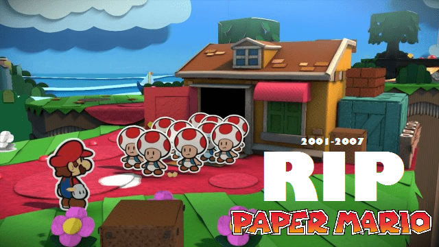 feels paper mario nintendo - 8756500480