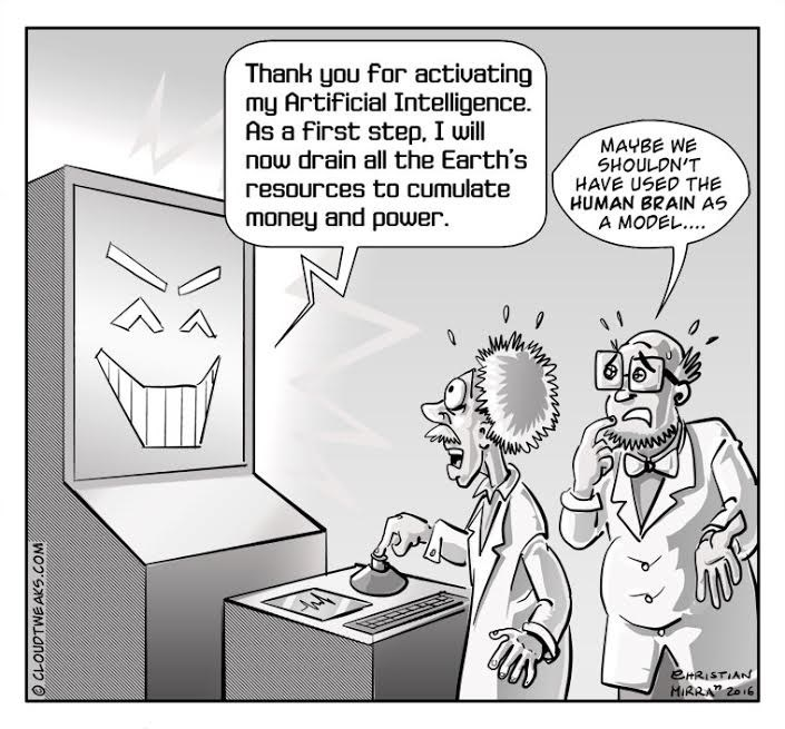 web comics humans artificial intelligence That Was a Bad Idea