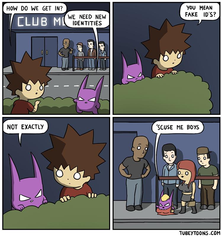 web comics club ladies Right This Way, Ladies