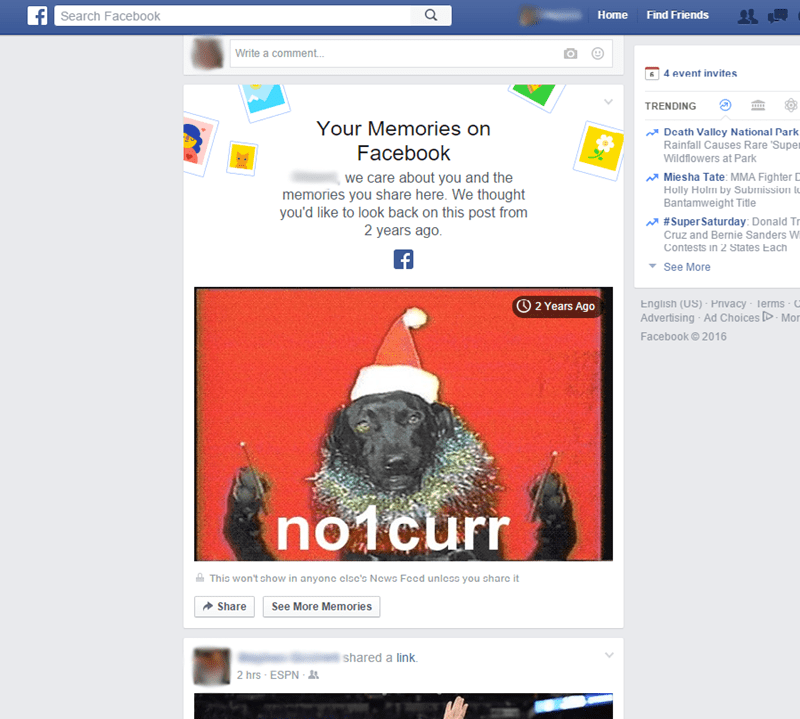 memory FAIL facebook no one cares - 8756816640