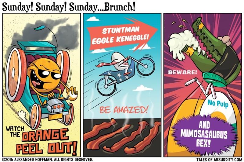 brunch monster trucks web comics - 8756821248