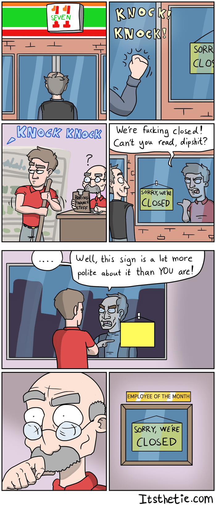 inanimate objects,employees,web comics