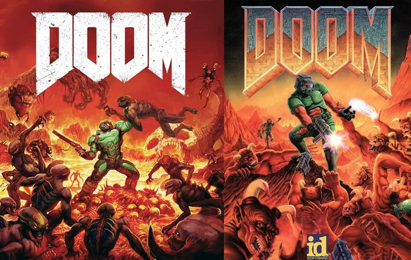 doom,box art