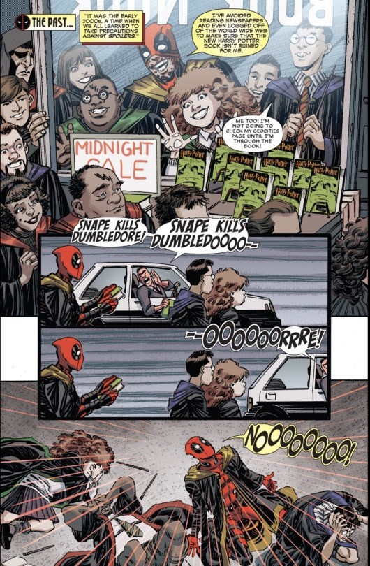 comics deadpool harry potter Deadpool is a Hufflepuff