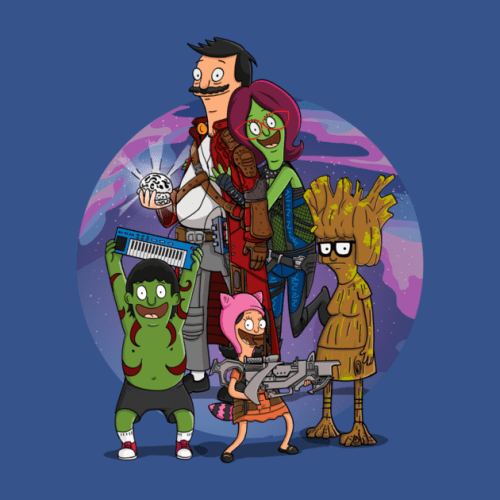 bobs burgers guardians of the galaxy fan art Todays Special: Guardians of the Galaxy Burger
