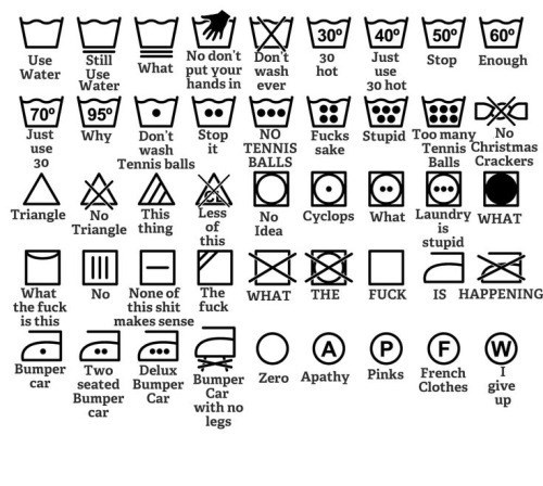 funny memes wash instructions