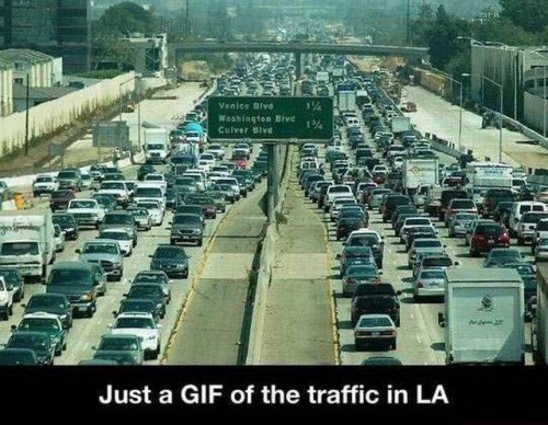 los angeles traffic - 8757158912