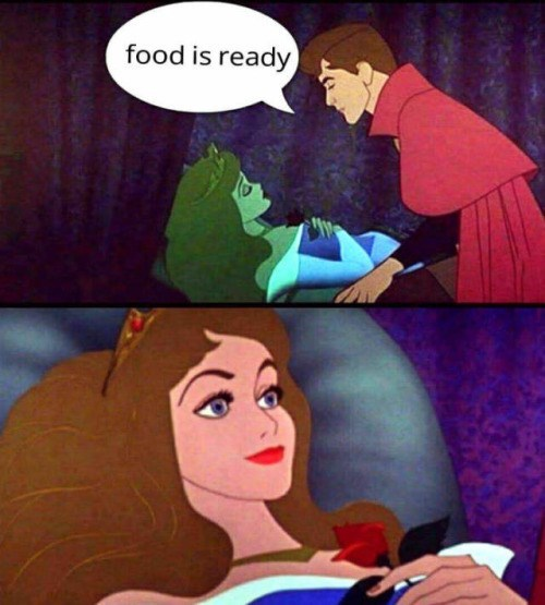 Sleeping Beauty,cartoons,food