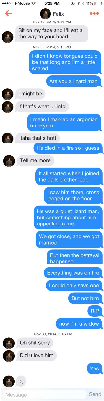 skyrim lizard husband died in a fire