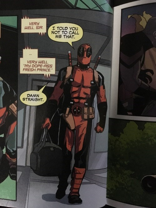 deadpool fresh prince comics Don't Make Me Remind You Again?