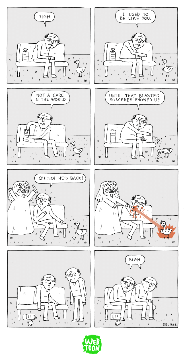 web comics magic ducks At Least Now Someone Can Relate