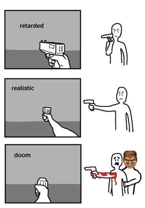 doom,video game logic