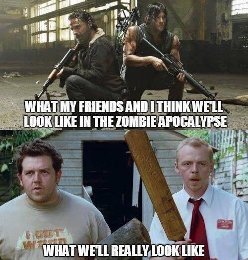 walking dead meme too real