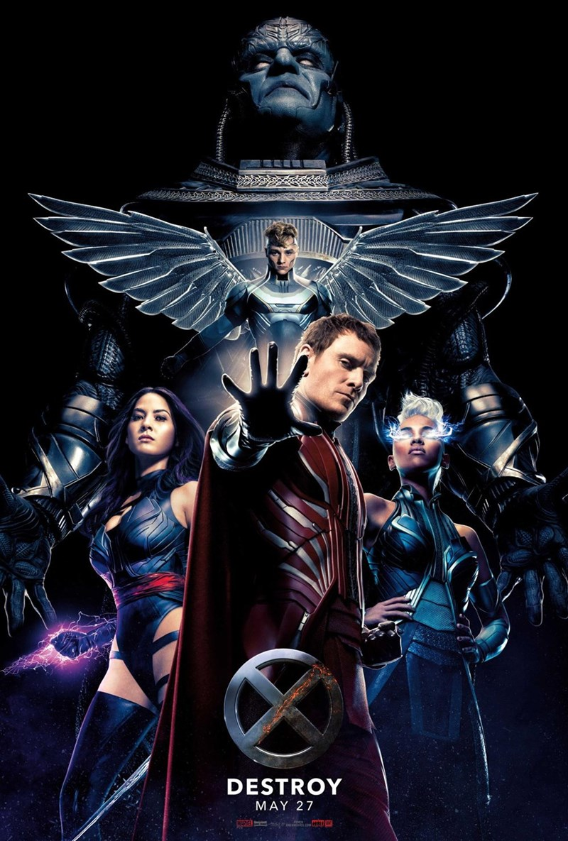 "x-men apocalypse poster The New 'X-Men: Apocalypse' Poster Gives Focus to The ""Four Horsemen"""
